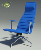 design armchair 3d model