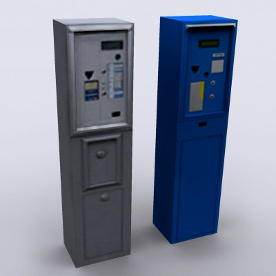 free parking meter 3d model - parking_meter... by ozgur saral