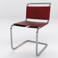 spoleto chair 3d max