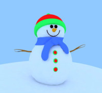 Snowman for 3DS Max
