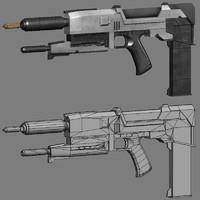 3d t2 pistol