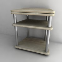 tv table 3d model
