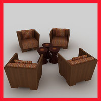 3d living furniture