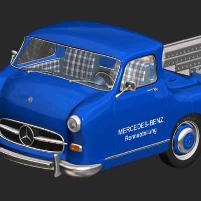 MB Racing-Transporter