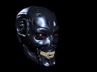 terminator skull.obj