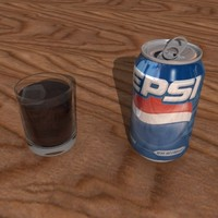 pepsi damaged glass 3d max
