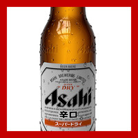 3d model asahi beer bottle