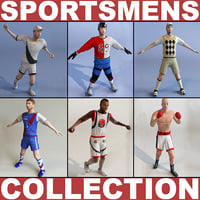 Collection of sportsmens