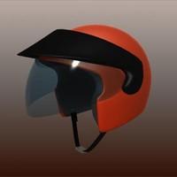 3d jet motorcycle helmet