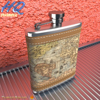 hip flask 3d model