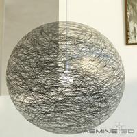 3dsmax modern ceiling lamp