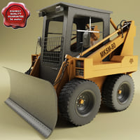 3d mksm-800 blade model