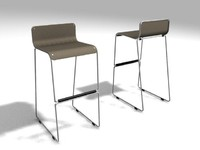 Stool - Kithen Bar Stool.zip