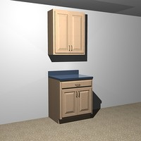 3d kitchen cabinets - 30