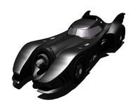 3d 1989 batmobile model