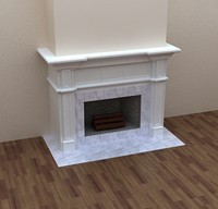 fireplace 3d max