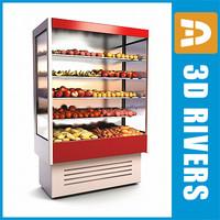 3dsmax wall freezer fruit