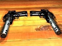 3d hand gun pistol model