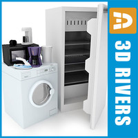 3d home appliances