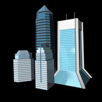 3d buildings jacksonville model