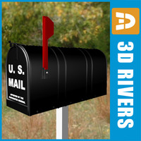 Mailbox 01 by 3DRivers
