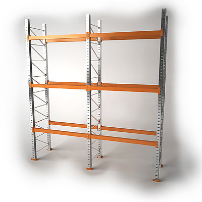 3d model pallet rack storage Warehouse racking layout software free