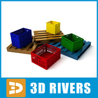 Pallets and boxes by 3DRivers