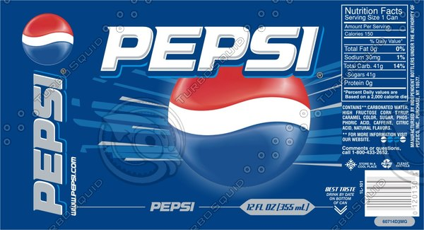 pepsi damaged glass 3d max - Pepsi Can + Damaged Can... by alint
