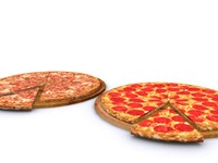 3d games pizza model