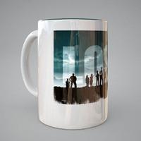 porcelain cup 3d max