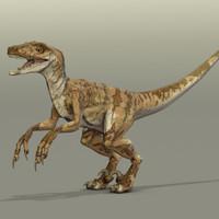velociraptor OBJ