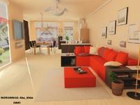 3d classic room