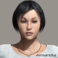 armandia realistic physique 3d max