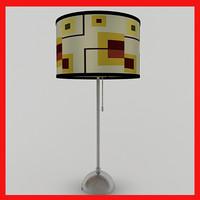 maya lamp scene