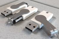 3d model thumb drive