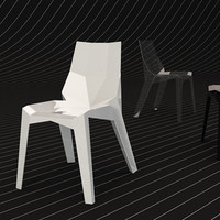 3d bonaldo chair