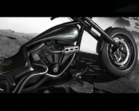 custom chopper c4d