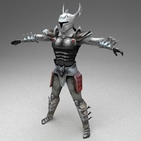 3ds max fantasy warrior