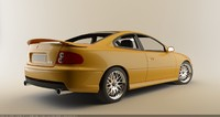 3d model of pontiac gto 6 0