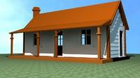 3d new zealand house