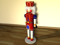 nutcracker nut c4d