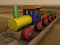 locomotive railway 3d model