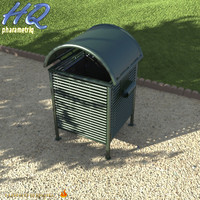 3d wastebasket 05 model