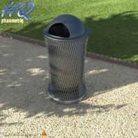 3ds max wastebasket 07