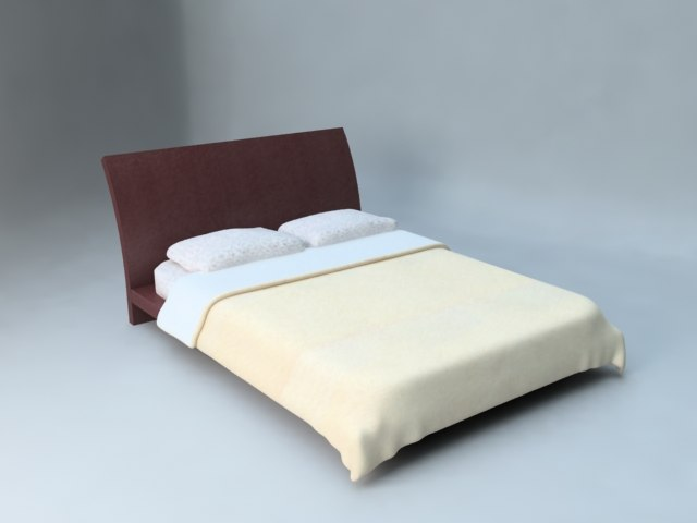 3d cama bed for Cama 3d max