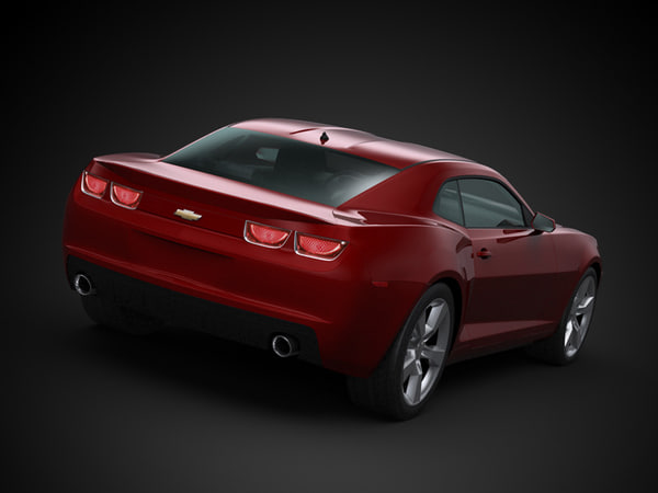 3ds max car architecture visualization - 2010 Chevrolet Camaro... by ArchCars