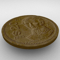 3d ma old mexican coin