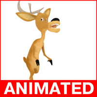 3d model elliot deer