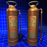 Fire Extinguisher Copper 01