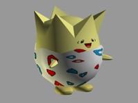togepi pokemon 3d 3ds